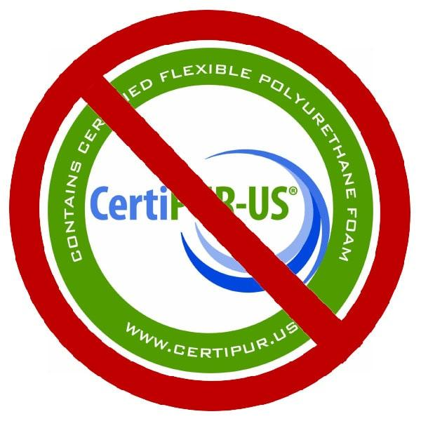 Mattress certifications you don't want in a mattress.