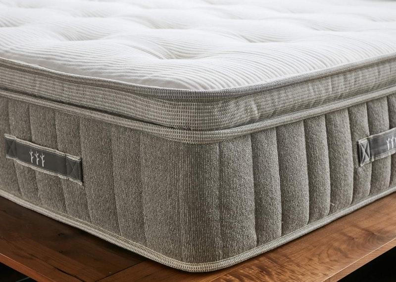 Brentwood Home Cedar pillow top natural latex foam mattress