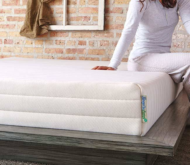 pure green natural latex mattress by sleep on latex review natural mattress finder. Black Bedroom Furniture Sets. Home Design Ideas