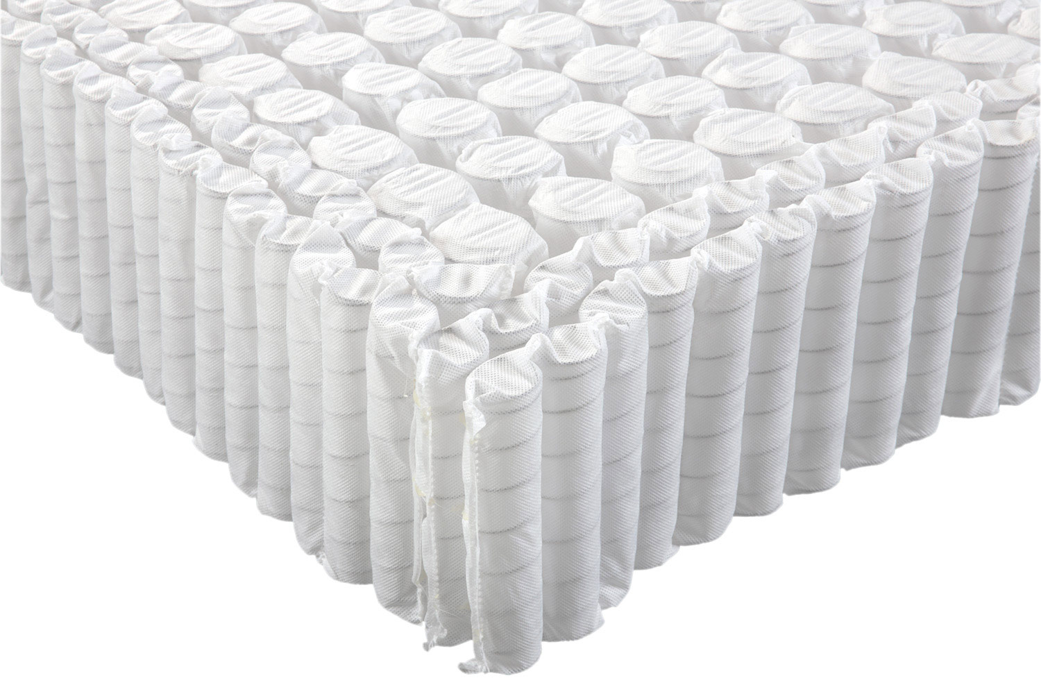 Edge support coils for the Eco Terra hybrid innerspring natural latex mattress.