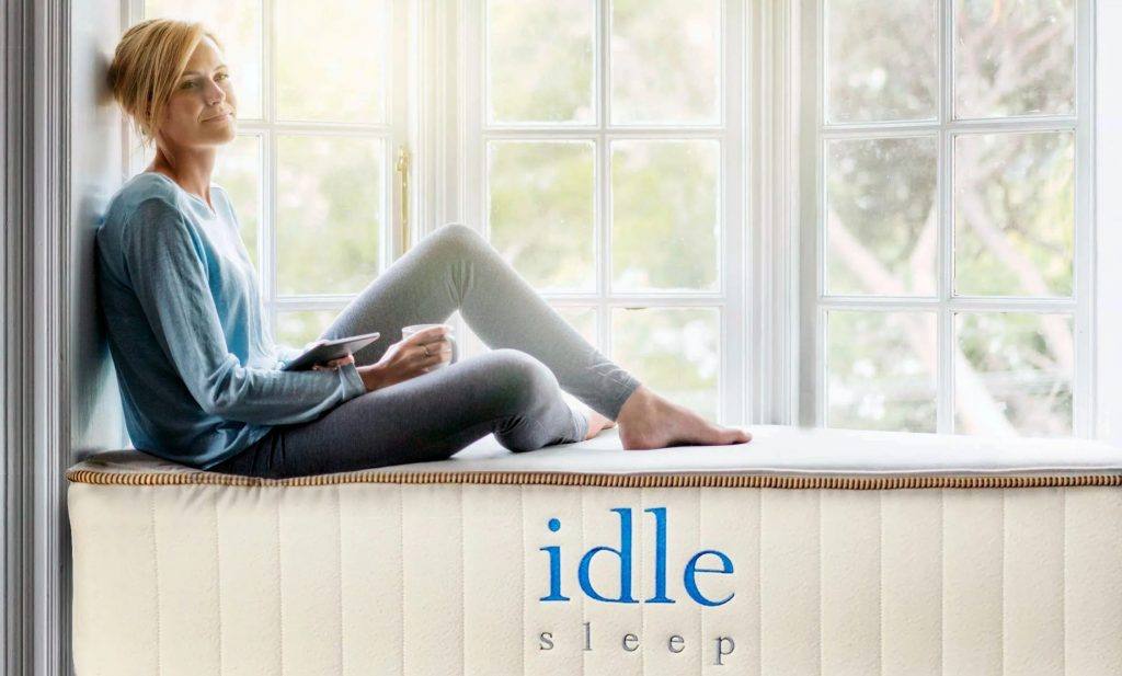 Idle Sleep Natural Latex Hybrid 6