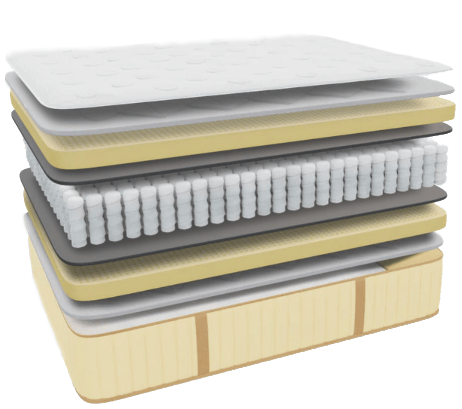 Idle Sleep latex-layer transparent