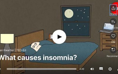 TED Talk Insomnia: What Causes Insomnia & 7 Sleep Tips
