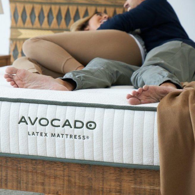 Avocado Green All Latex Mattress20
